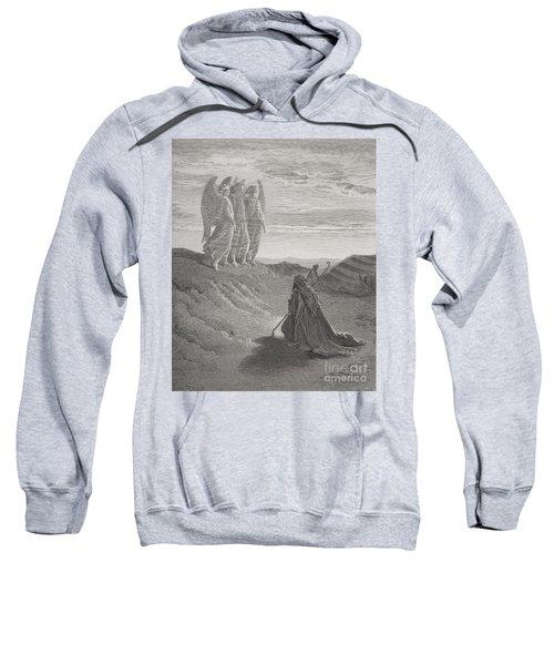 Abraham And The Three Angels Sweatshirt