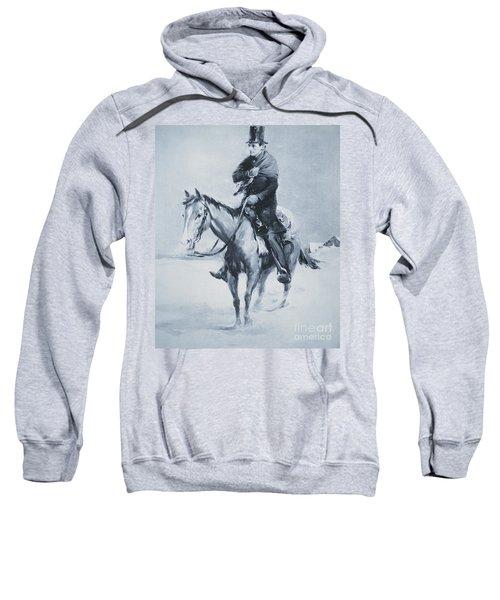 Abraham Lincoln Riding His Judicial Circuit Sweatshirt