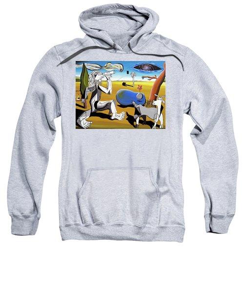 Abstract Surrealism Sweatshirt