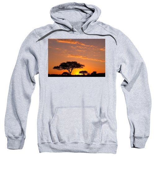 African Sunset Sweatshirt by Sebastian Musial