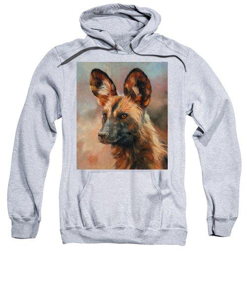 African Wild Dog Sweatshirt