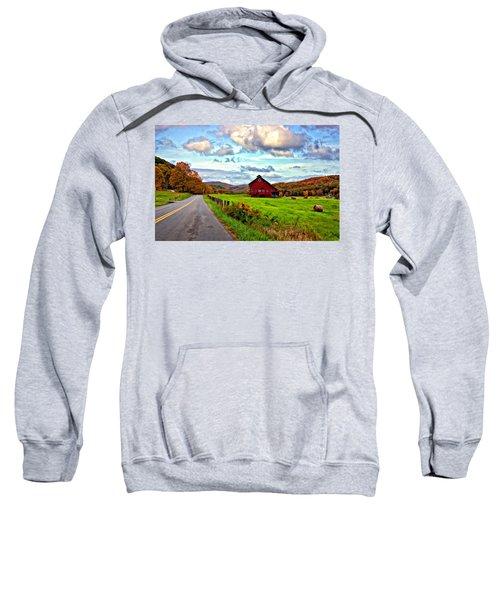 Ah...west Virginia Painted Sweatshirt