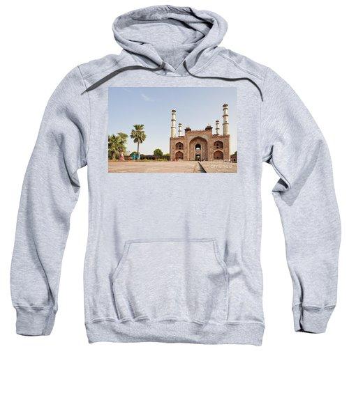 Akbar's Tomb In  India Sweatshirt