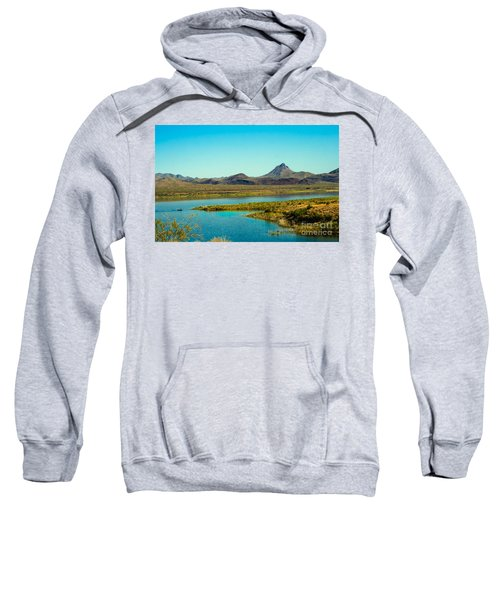 Alamo Lake Sweatshirt by Robert Bales
