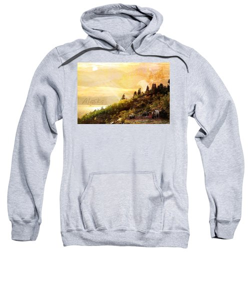 Alaska Montage Sweatshirt