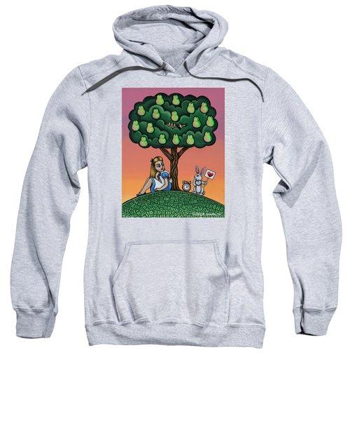 Alice In Wonderland Art Sweatshirt