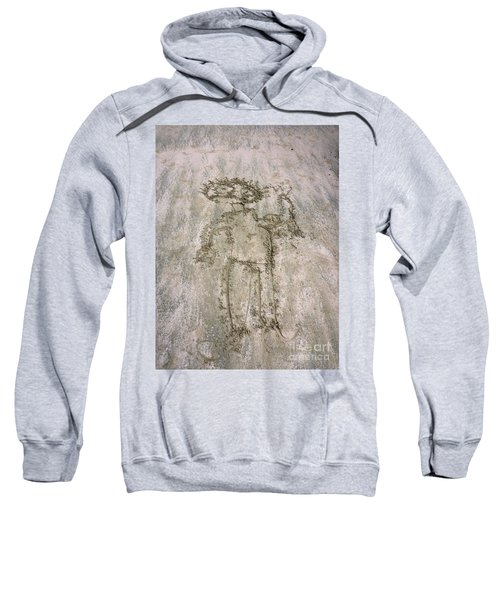 Alien On The Beach Sweatshirt