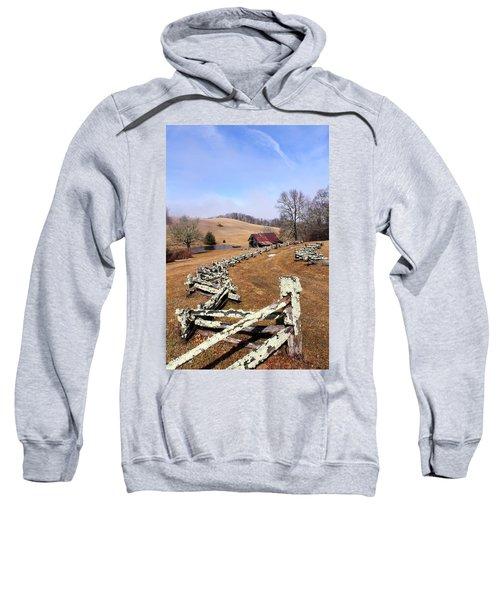 Along The Locust Rails Sweatshirt
