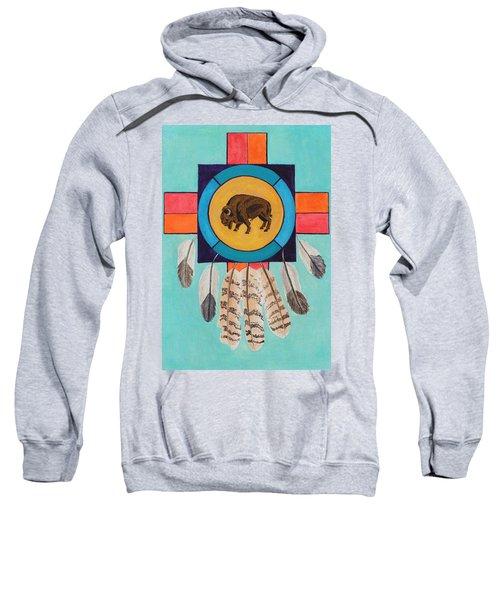 American Bison Dreamcatcher Sweatshirt