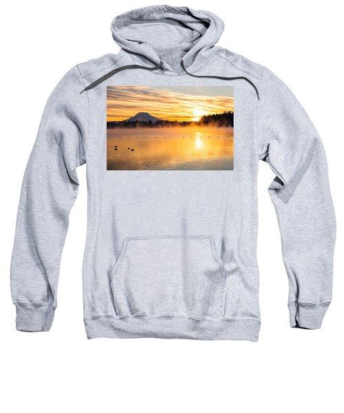 American Lake Misty Sunrise Sweatshirt