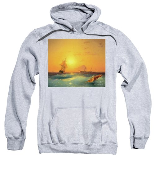 American Shipping Off The Rock Of Gibraltar Sweatshirt
