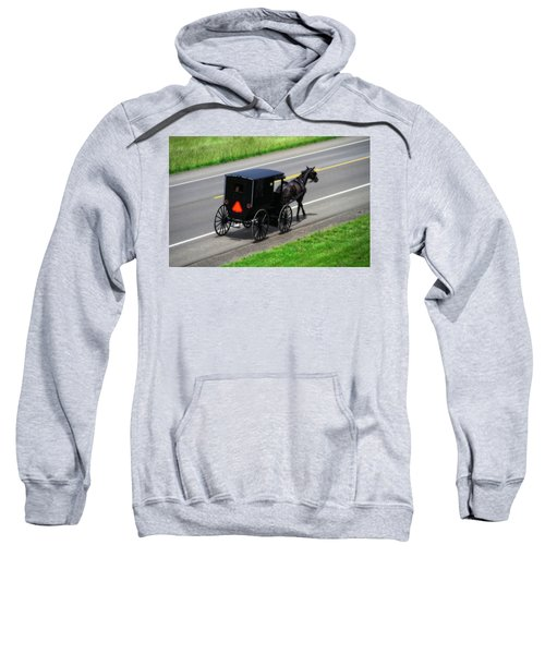 Amish Horse And Buggy In Ohio Sweatshirt