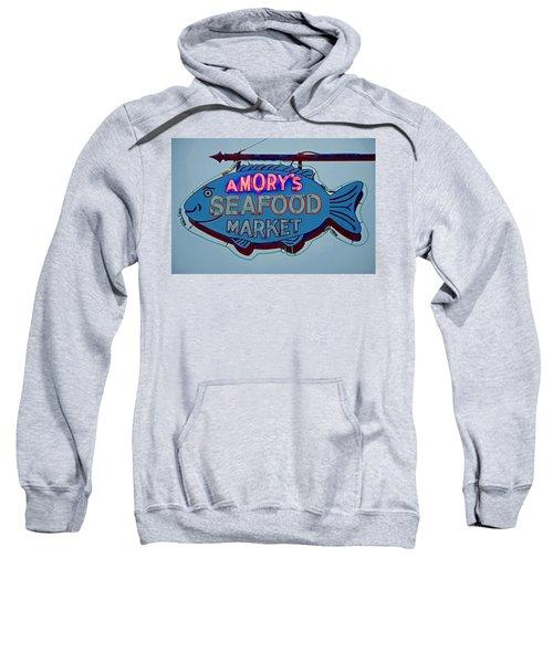 Amory Seafood Sign Sweatshirt