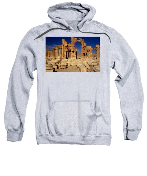 Ancient Roman City Of Palmyra, Syria Photo Sweatshirt