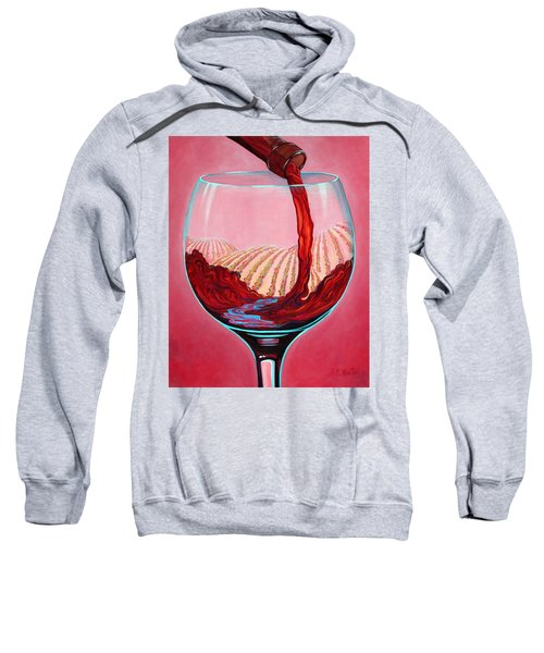 ...and Let There Be Wine Sweatshirt