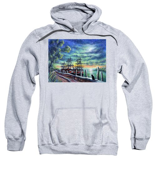 And We Shall Sail My Love And I Sweatshirt