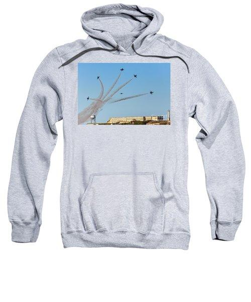 Angels Over Alcatraz Sweatshirt