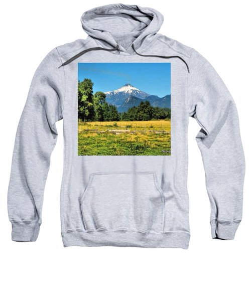Another Sunny Day In Villarrica..with Sweatshirt