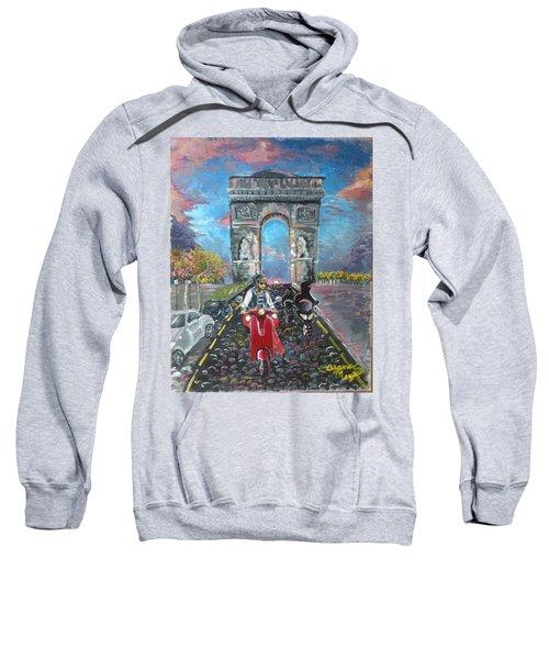 Arc De Triomphe Sweatshirt by Alana Meyers