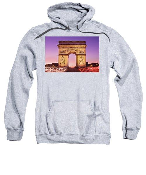 Arc De Triomphe Facade / Paris Sweatshirt