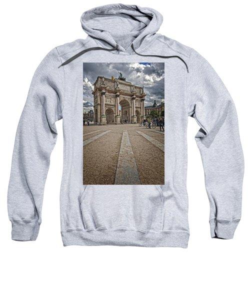 Arc De Triomphe Louvre  Sweatshirt