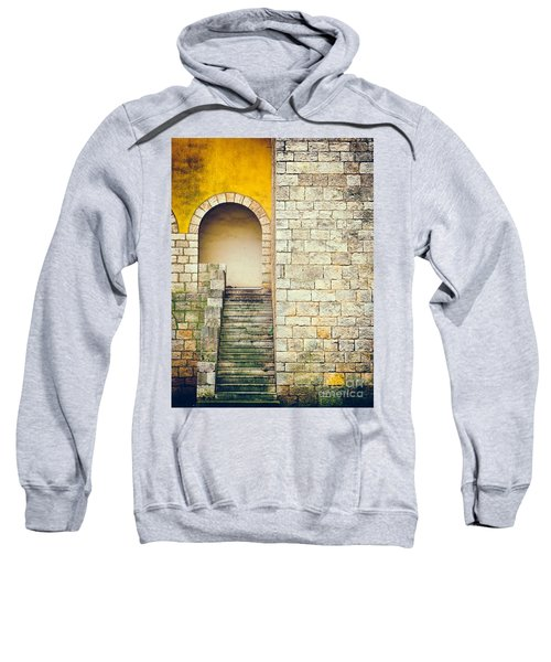 Sweatshirt featuring the photograph Arched Entrance by Silvia Ganora