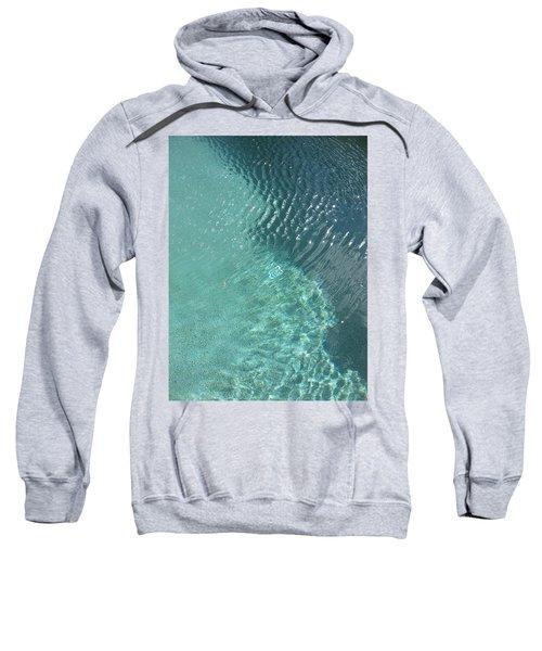 Art Homage David Hockney Swimming Pool Arizona City Arizona 2005 Sweatshirt