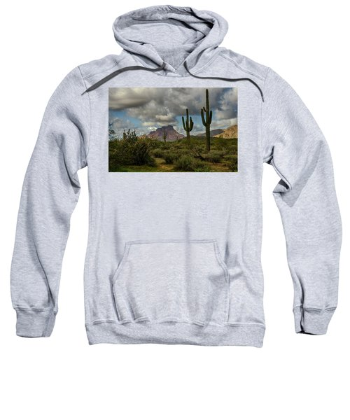 As The Clouds Pass By  Sweatshirt
