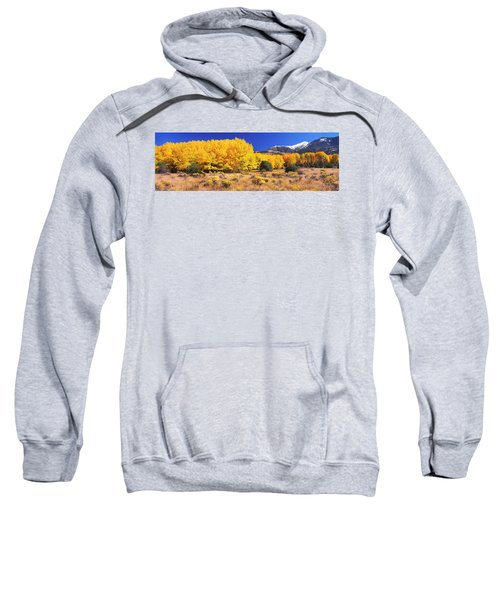 Aspen Tree With Sangre De Cristo Sweatshirt