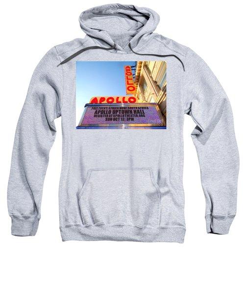 At The Apollo Sweatshirt by Ed Weidman