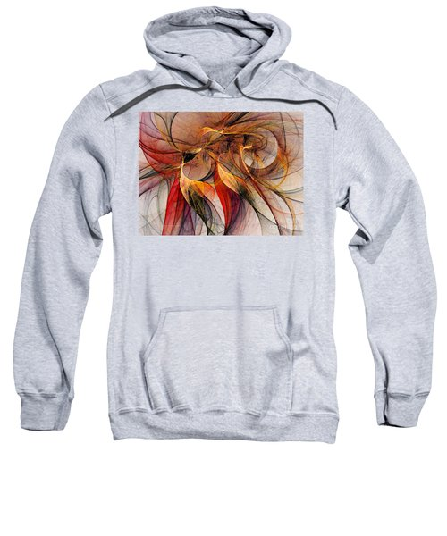 Attempt To Escape-abstract Art Sweatshirt