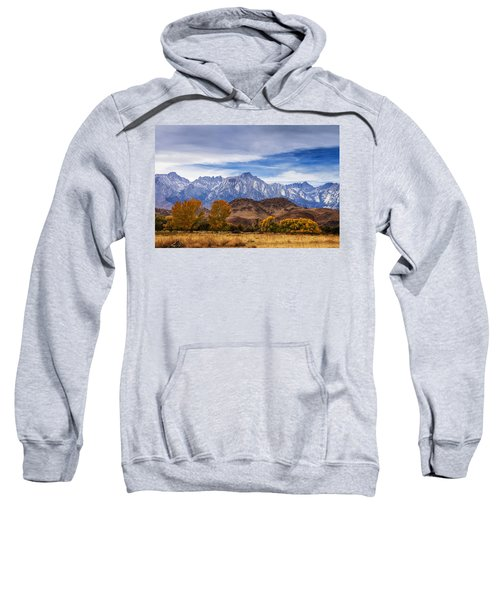 Autumn Colors And Mount Whitney Sweatshirt