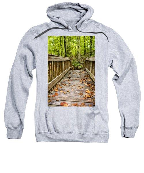 Autumn On The Bridge Sweatshirt