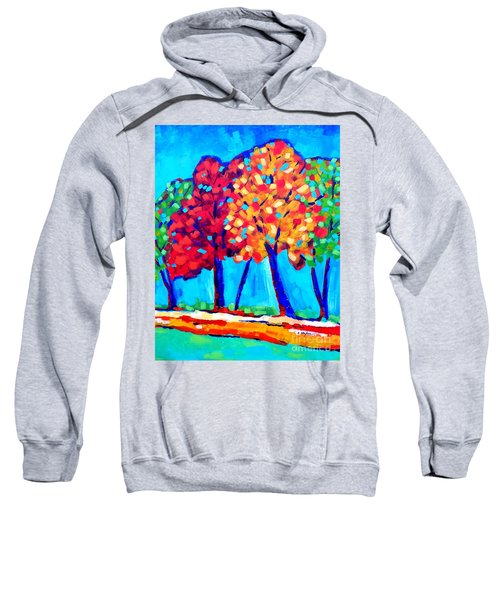 Autumn Trees Sweatshirt