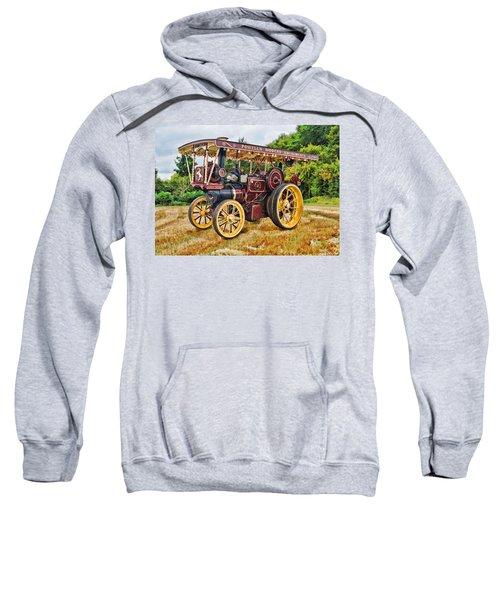 Aveling And Porter Showmans Tractor Sweatshirt