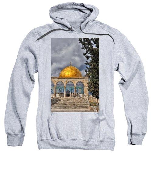 Awaiting The Hour Of Prayer Sweatshirt