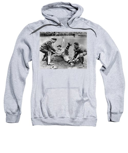 Babe Ruth Slides Home Sweatshirt by Underwood Archives