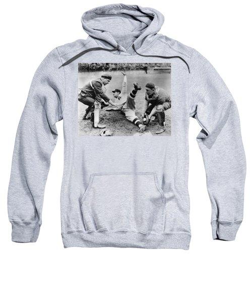 Babe Ruth Slides Home Sweatshirt