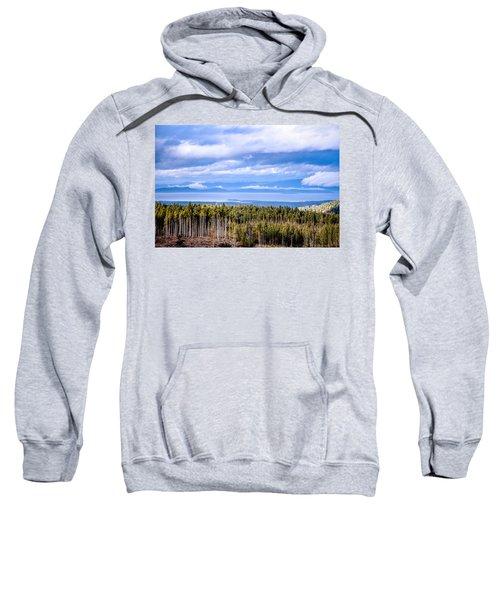 Johnstone Strait High Elevation View Sweatshirt