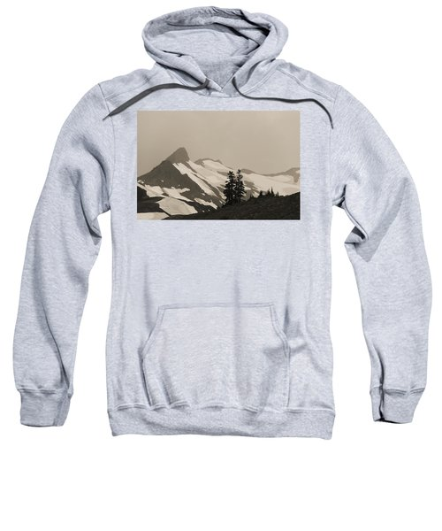 Sweatshirt featuring the photograph Fog In Mountains by Yulia Kazansky