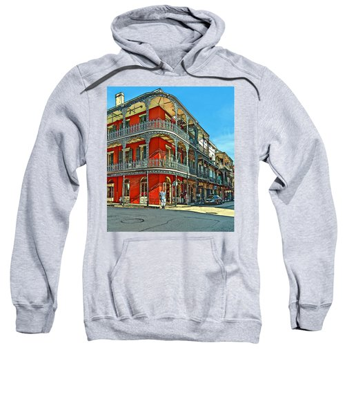 Balconies Painted Sweatshirt