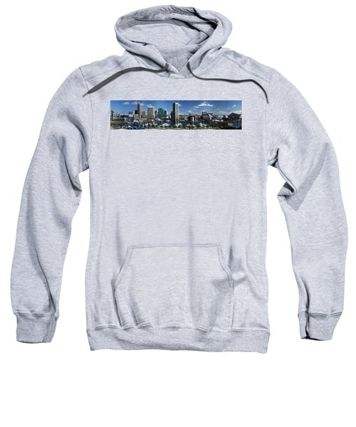 Baltimore Inner Harbor Panorama Sweatshirt