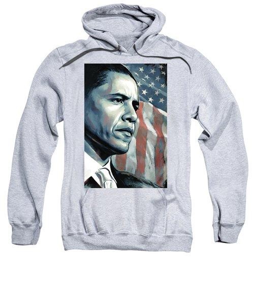 Barack Obama Artwork 2 B Sweatshirt