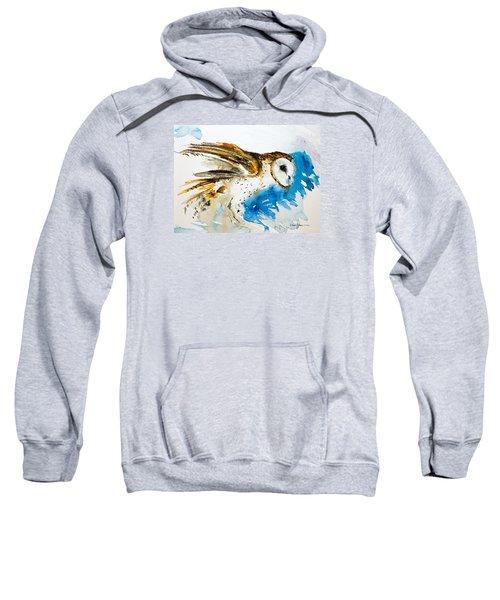 Da145 Barn Owl Ruffled Daniel Adams Sweatshirt