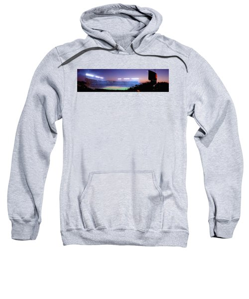 Baseball, Cubs, Chicago, Illinois, Usa Sweatshirt by Panoramic Images