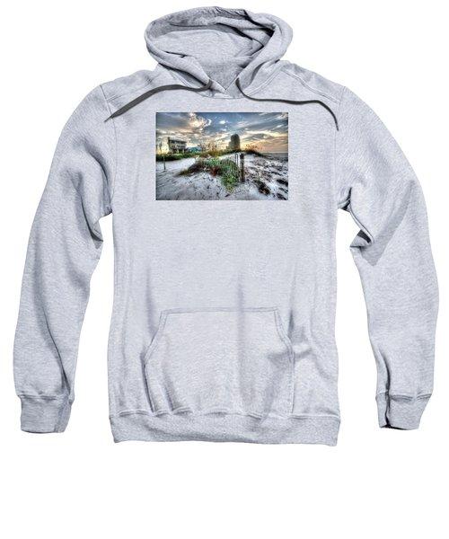 Beach And Buildings Sweatshirt