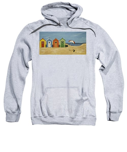 Beach Huts Sweatshirt
