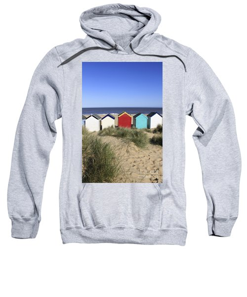 Southwold Beach Huts Uk Sweatshirt