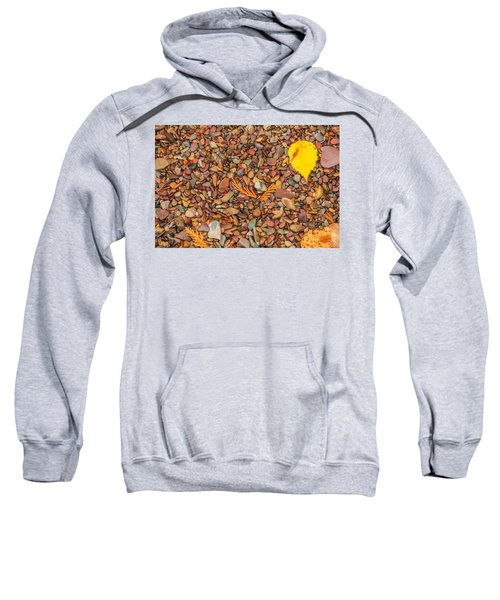 Beach Pebbles Of Montana Sweatshirt