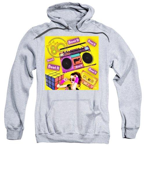 Beat It Sweatshirt by Mo T